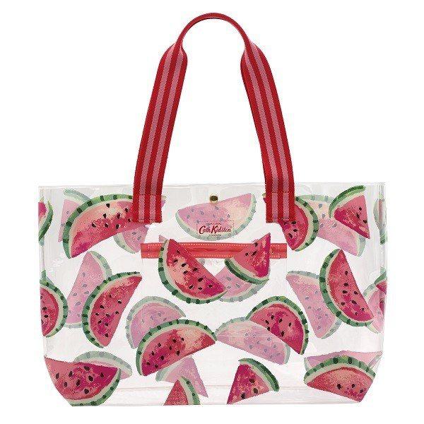 西瓜PVC手袋,1,880元。圖/Cath Kidston提供