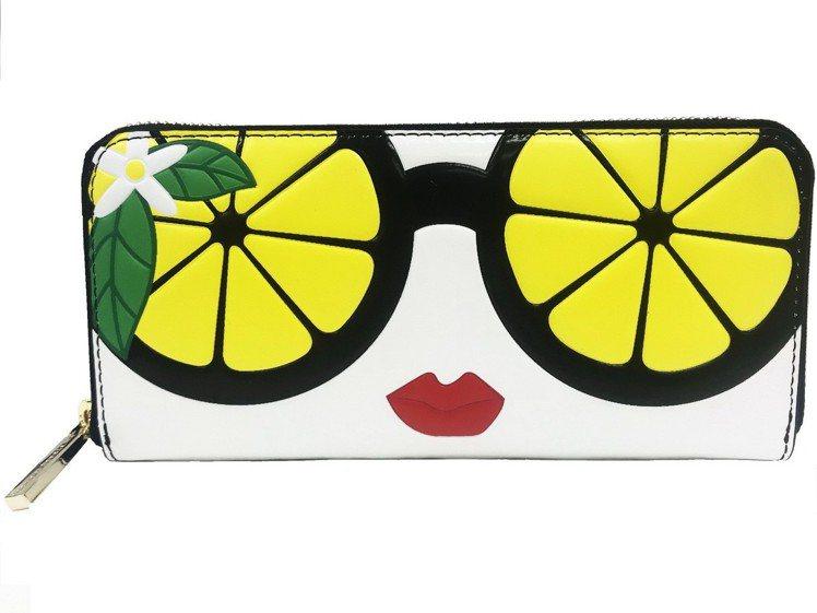 檸檬太陽眼鏡StaceFace長夾,9,900元。圖/alice + olivi...