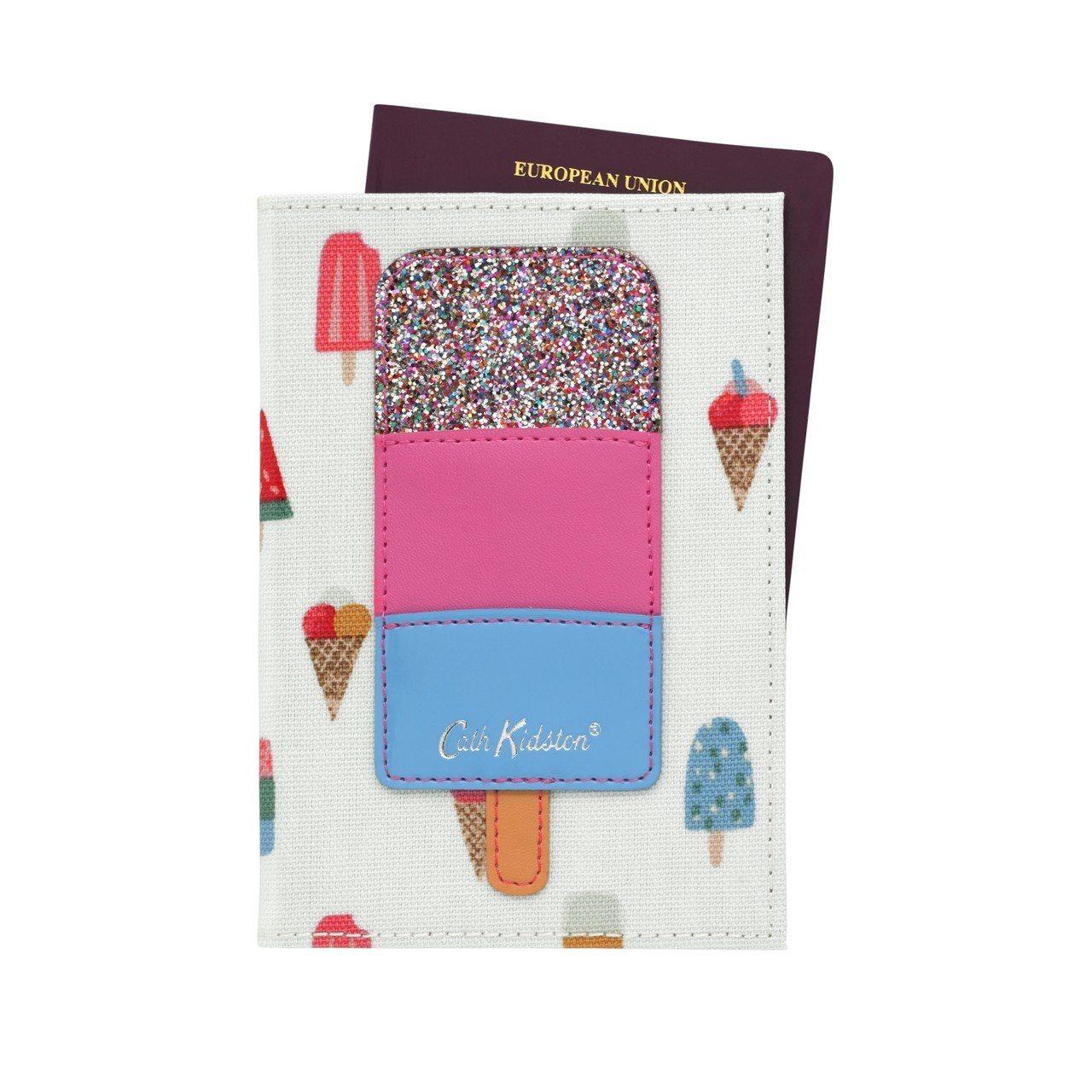 冰淇淋護照夾,780元。圖/Cath Kidston提供