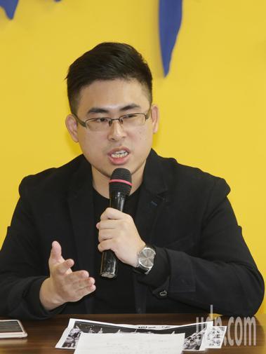 新黨王炳忠。記者楊萬雲/攝影