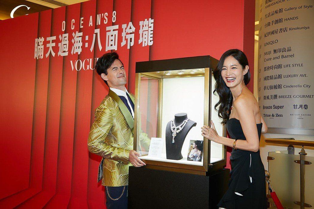 台北首映會現場邀請女星Janet和老公George出席,兩人搞笑要「偷」正是Je...