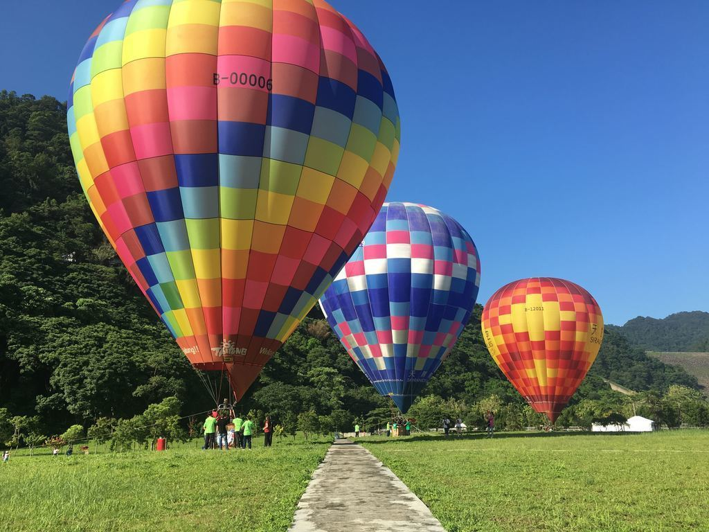 今年石門水庫熱氣球嘉年華從6月23日起展開。圖/桃園市政府觀旅局提供