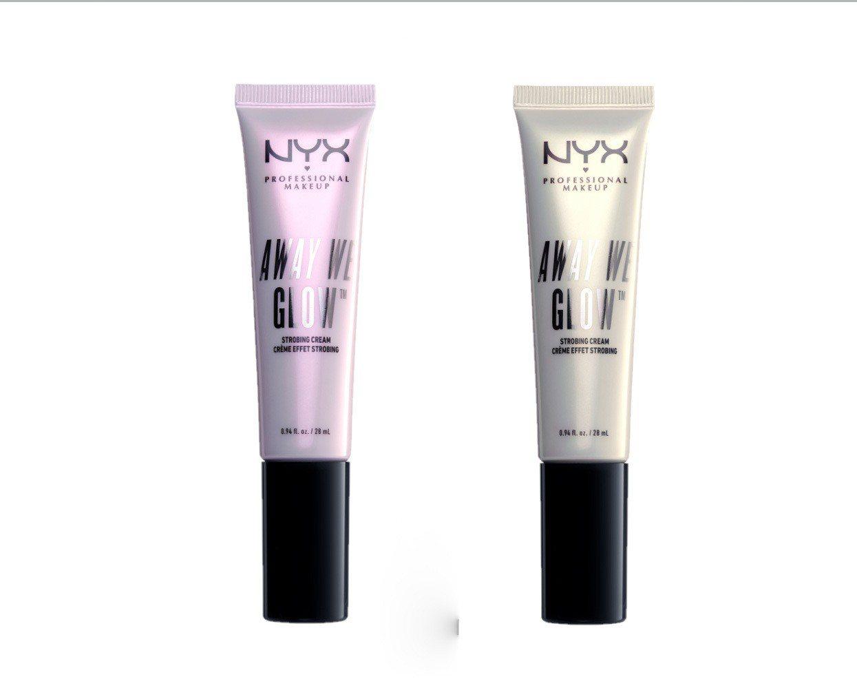 NYX內建閃光燈肌光妝前乳,售價650元,共2色。圖/NYX提供