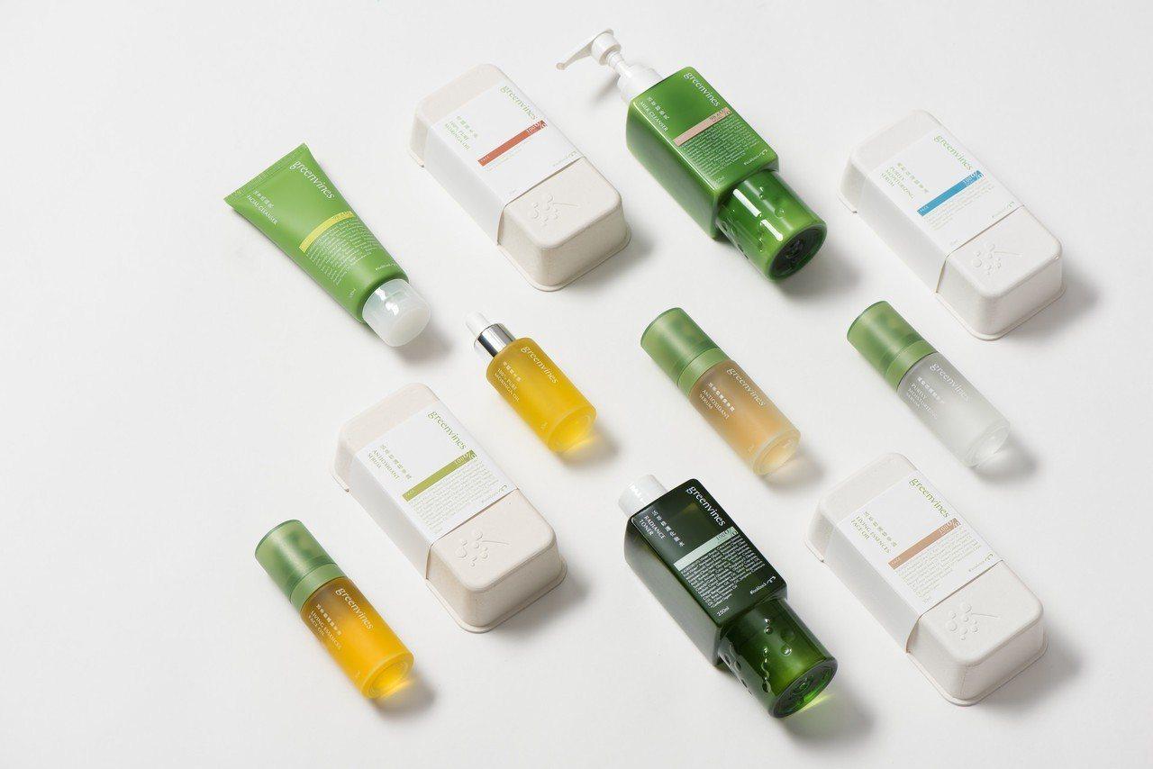 綠藤生機從產品成分到外盒包裝,不斷找尋對人體與環境更好的解答。圖/B型企業協會提...