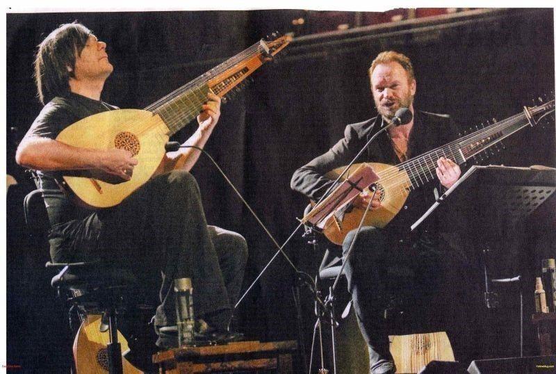 假聲男高音及魯特琴的「二重之夜」,六月十八來台演出。 圖╱聯合數位文創提供