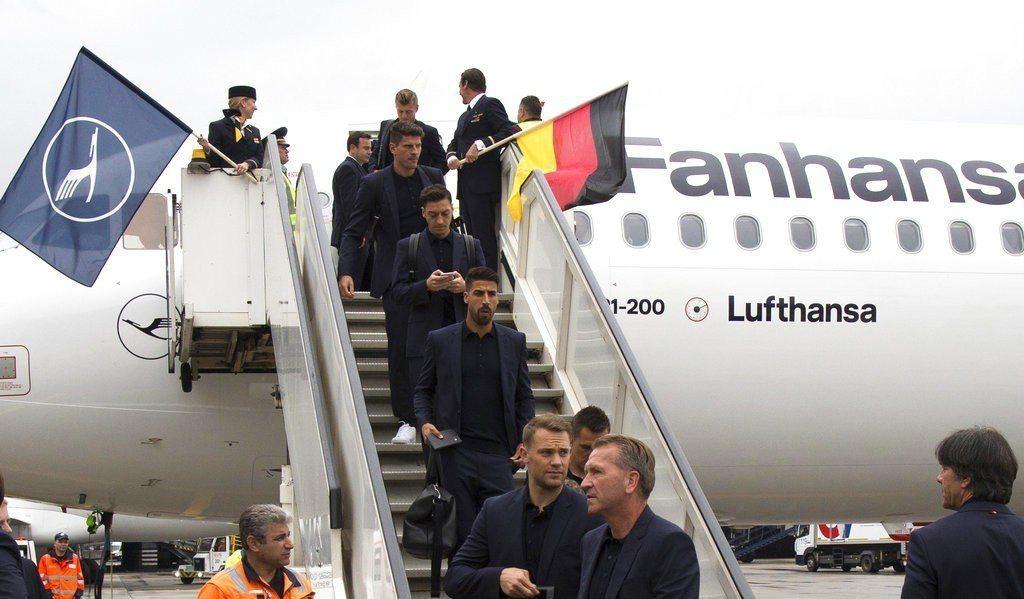 衛冕軍德國還是本屆世足奪冠最大熱門。 美聯社