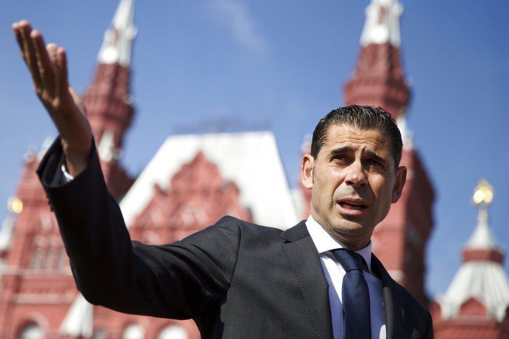 現任西班牙體育總監耶羅緊急接下國家隊教頭重任。 美聯社