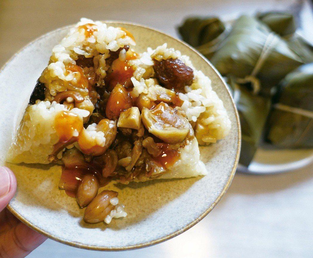 南部水煮粽口感軟糯,是許多人端午節慶時的心頭好。圖/太陽臉