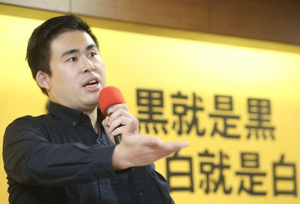 新黨發言人王炳忠。 圖/聯合報系資料照片
