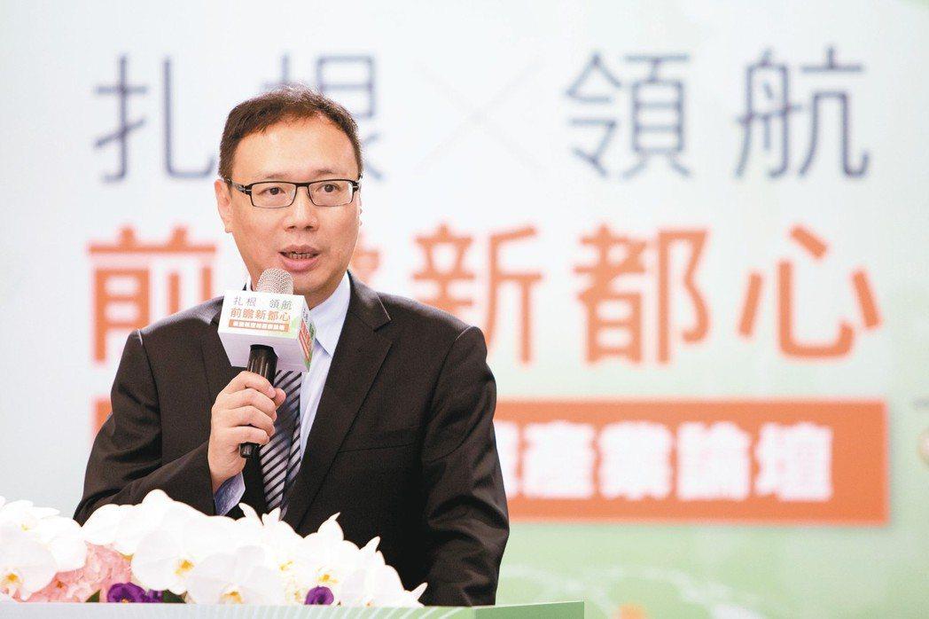 桃園航空城股份有限公司董事長黃適卓。 圖/桃園航空城公司提供