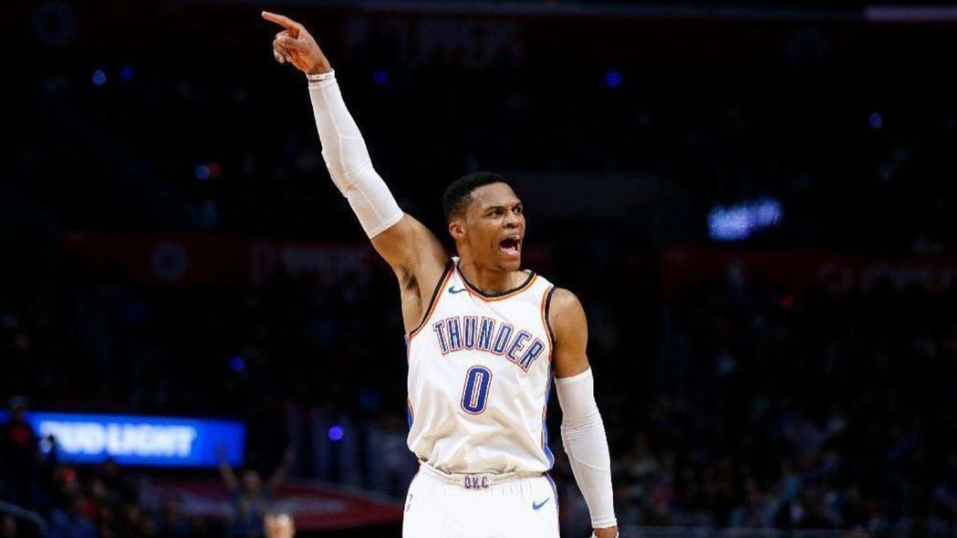 NBA球星Russell Westbrook在布蘭特伍(Brentwood)以1...