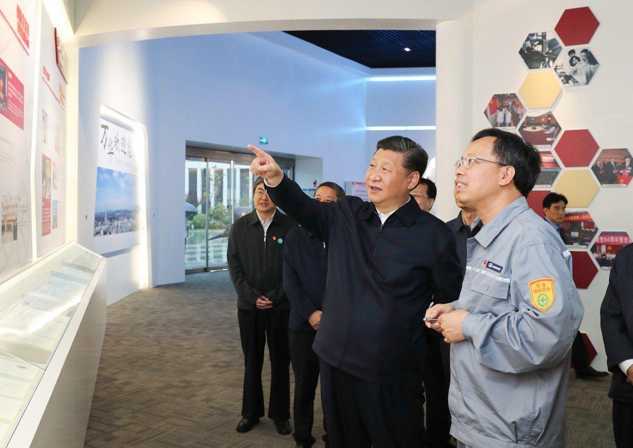 習近平:搞好國企一定要改革。 新華社