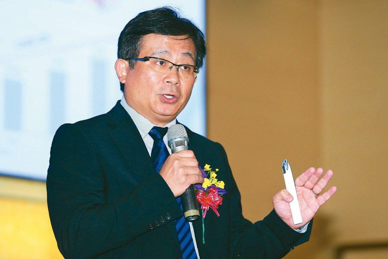 信驊董事長林鴻明。 圖/聯合報系資料照片