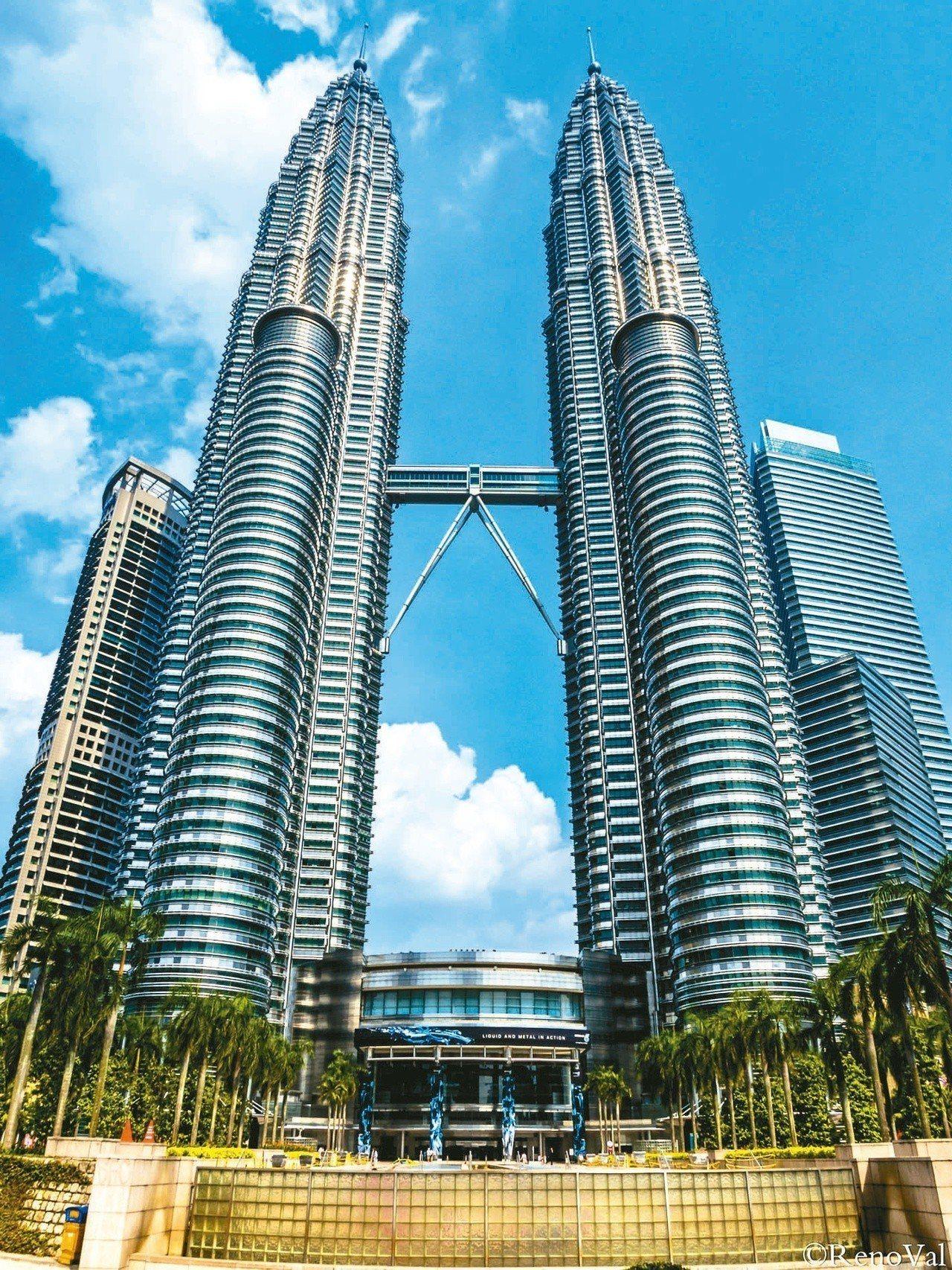 馬來西亞的吉隆坡是亞洲高度發展的城市之一 圖片來源/聯合報系