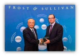 Keypasco身分認證技術獲Frost & Sullivan獎項肯定。 來毅/...
