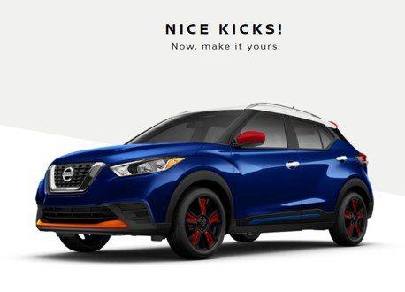 顏色隨心所欲任你配 北美Nissan為你打造獨一無二Kicks