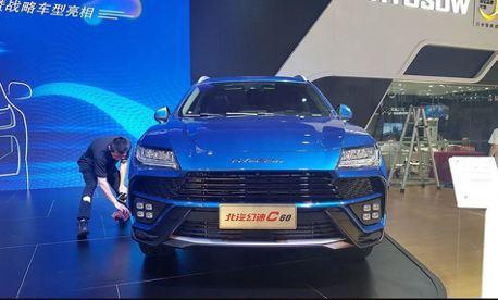 設計愈來愈到位!中國北汽幻速推出Lamborghini Urus?