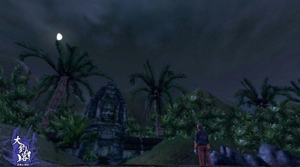 夜晚的吳哥窟更顯得神秘許多