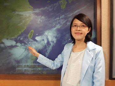 氣象預報員張心華14日受訪時表示,有個熱帶性低氣壓形成與環流影響,造成水氣北移時...