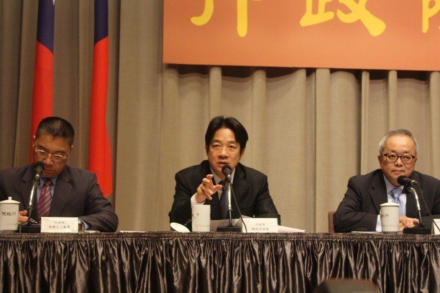 行政院長賴清德14日大動作公佈最新的金融發展行動方案,以優化台灣金融市場環境,刺...