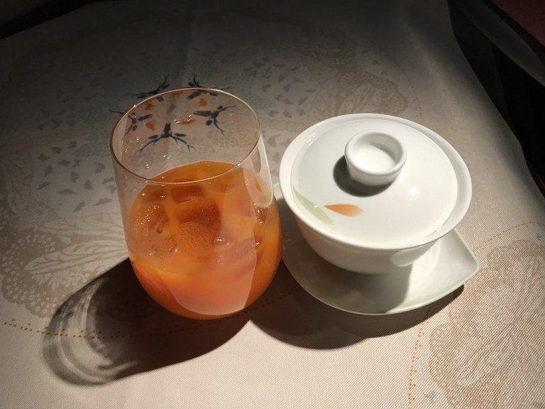 早餐來杯蔬果汁跟包種茶,真的好享受 圖文來自於:TripPlus