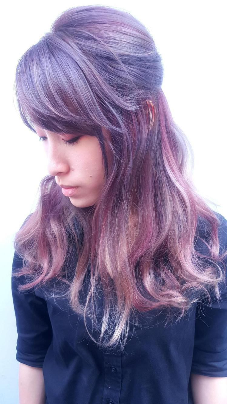 髮型創作/LaLa。圖/StyleMap提供