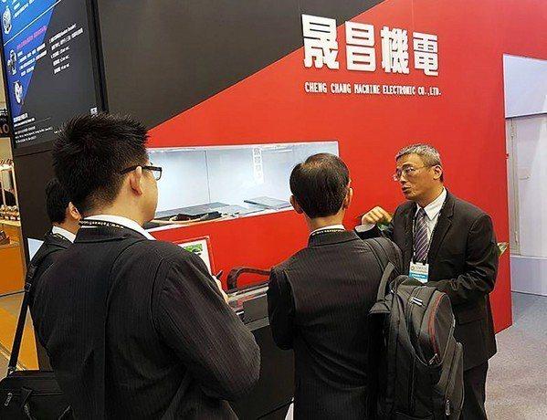 圖6 : 晟昌機電總經理彭昭群不排除推出電動車自有品牌。(圖片來源:晟昌)