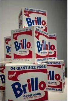 《布瑞洛盒》(Brillo Boxes) (圖片來源:Flickr by ayn...