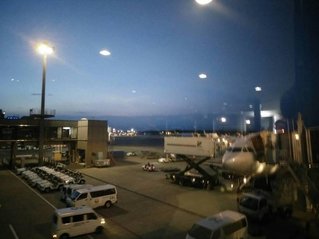 台中直飛日本東京成田機場的班機,今起每天對飛各一班。記者張明慧/攝影