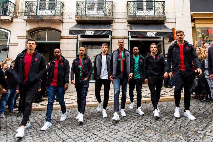 葡萄牙隊。圖/摘自twitter