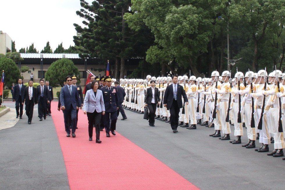 警大畢業典禮,蔡英文總統到場。記者曾健祐/攝影