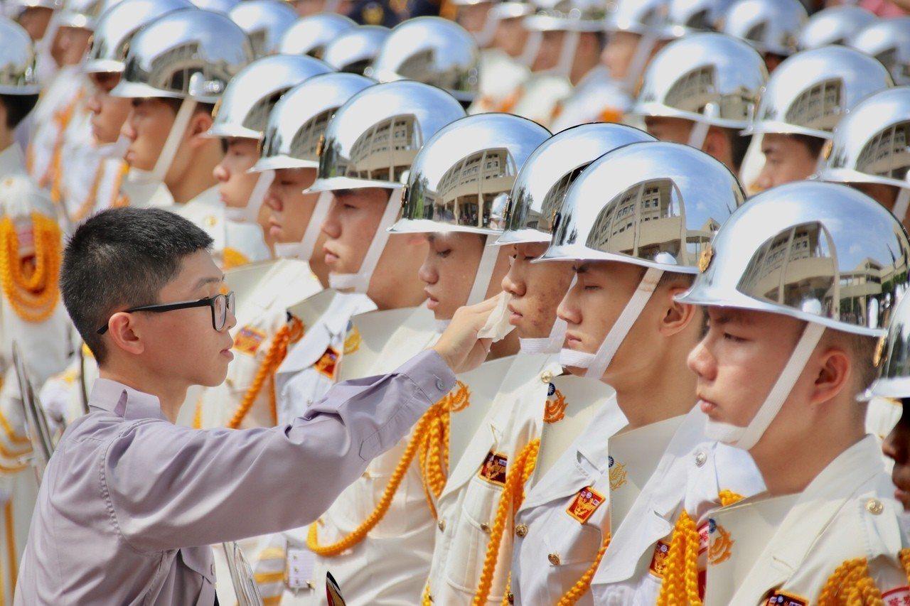 警大畢業典禮。記者曾健祐/攝影