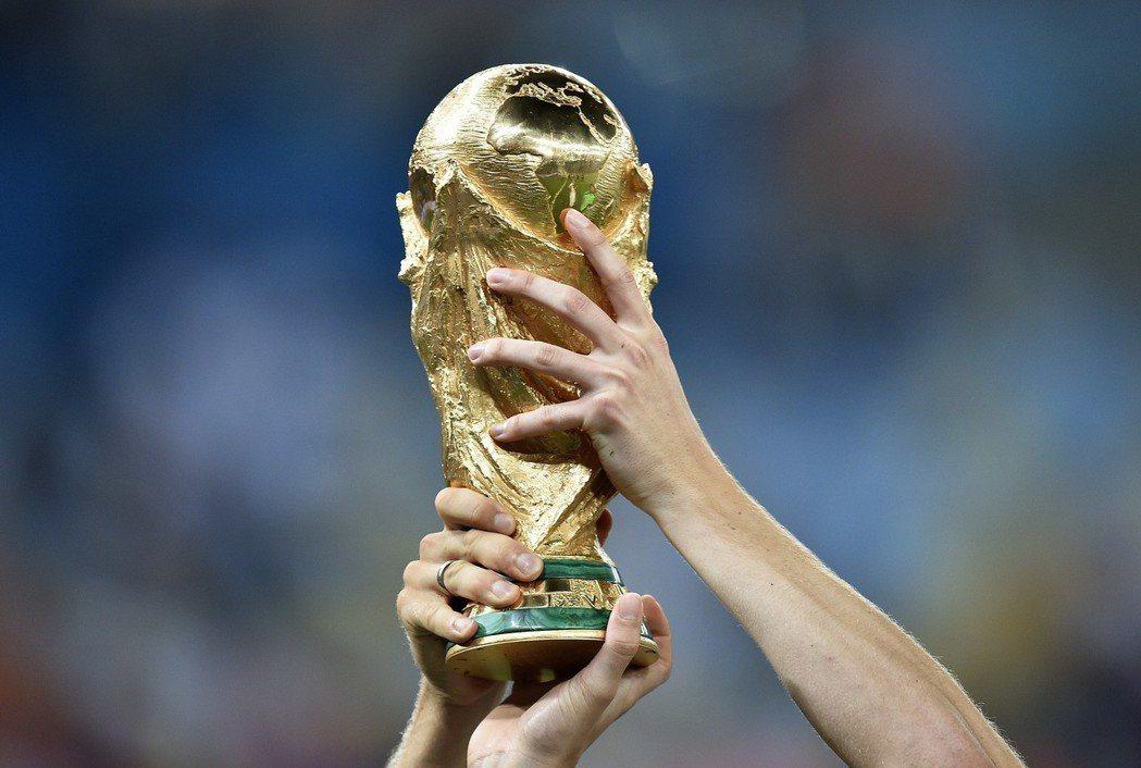 世界盃冠軍獎盃。美聯社
