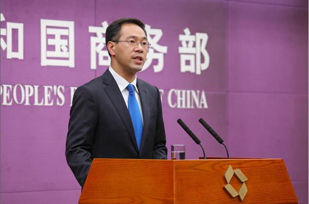 中共商務部新聞發言人高峰預計,內地未來幾年的服務貿易逆差仍將擴大。(商務部照片)