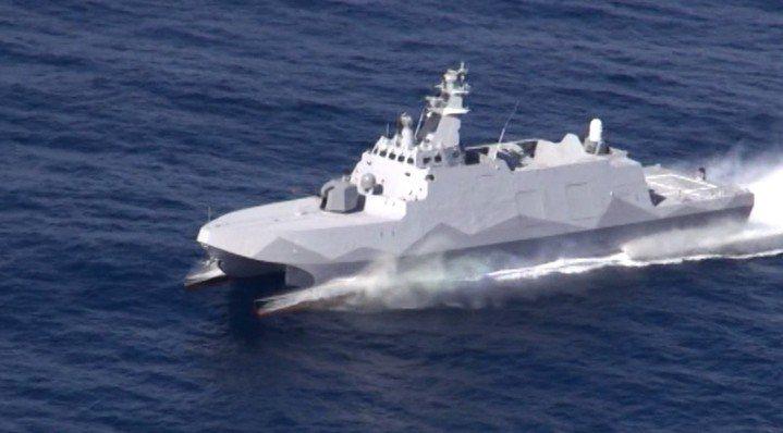海軍司令部表示,考量近年敵情威脅驟增,為滿足海軍任務實需,海軍已完成沱江艦後續艦...