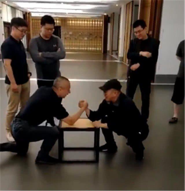 李連杰再次現身北京。圖/摘自微博
