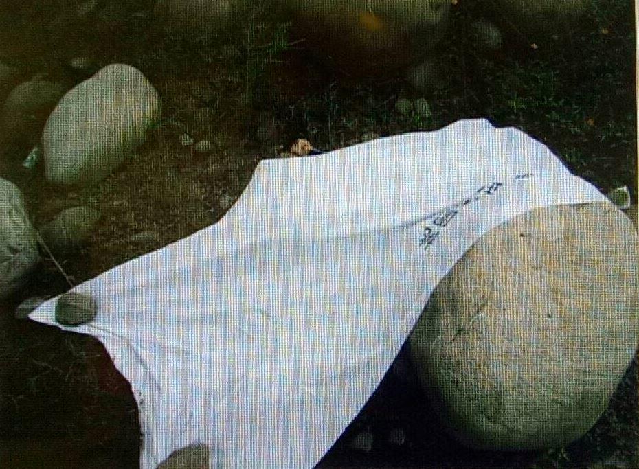 桃園市大溪區一名28歲蘇姓男子今日上午墜橋身亡,路過民眾發現,嚇得趕緊報警。圖/...