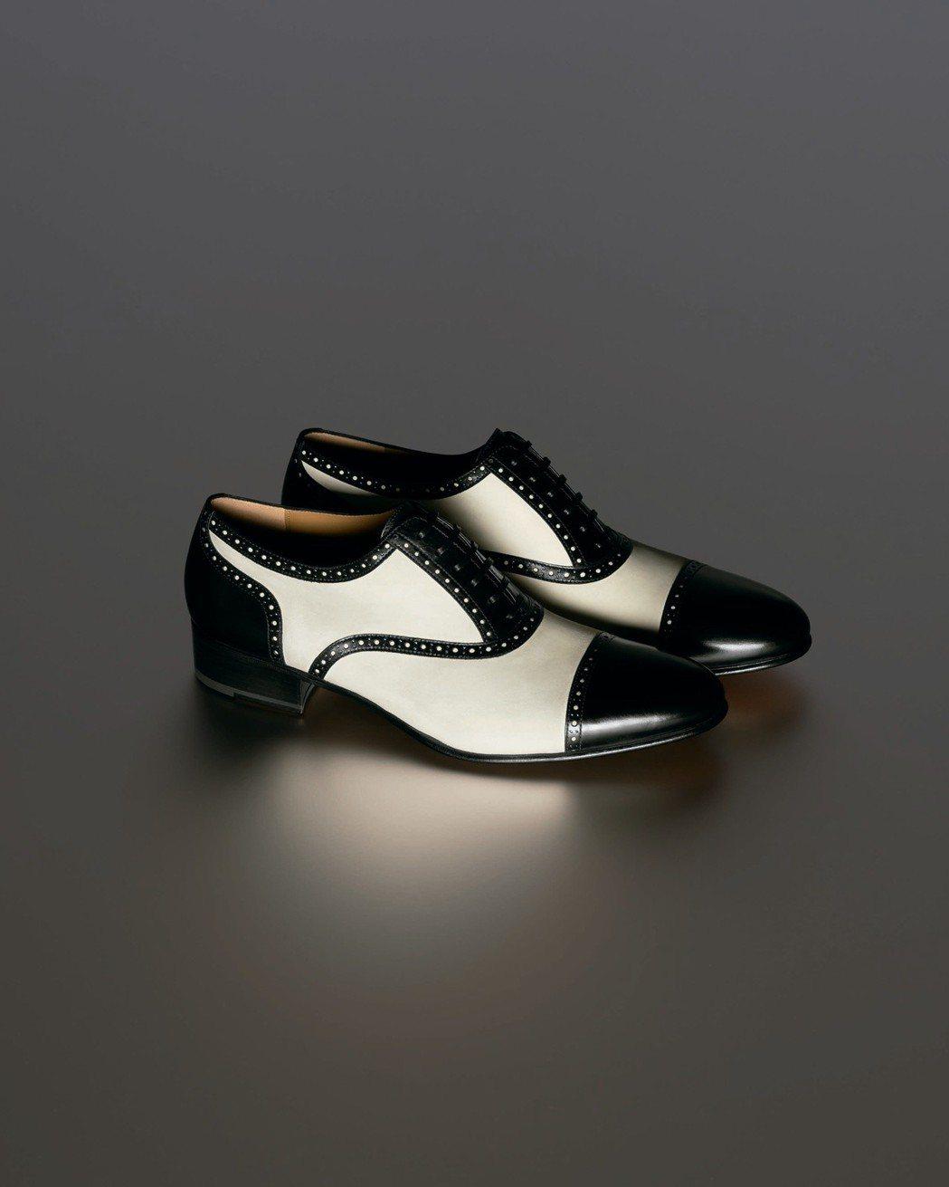 Ferragamo特選Creations博物館系列限量SILENCE鞋款。圖/F...
