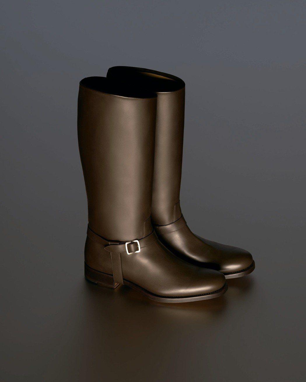 Ferragamo特選Creations博物館系列限量RAMON鞋款。圖/Fer...