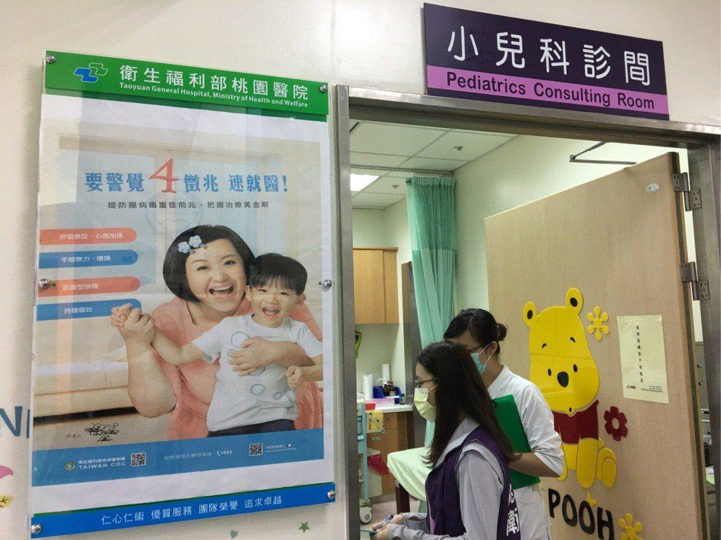 桃園市一名4歲女童檢驗感染腸病毒伊科病毒11型,妥善治療後已逐漸康復,目前仍於一...
