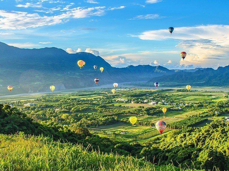 台灣國際熱氣球嘉年華。易遊網/提供