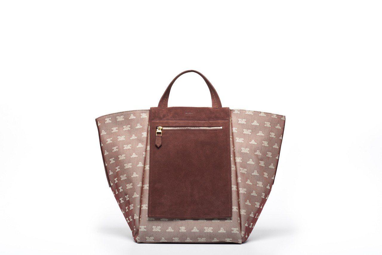 ANITA紅麂皮手提包,售價56,200元。圖/Max Mara提供