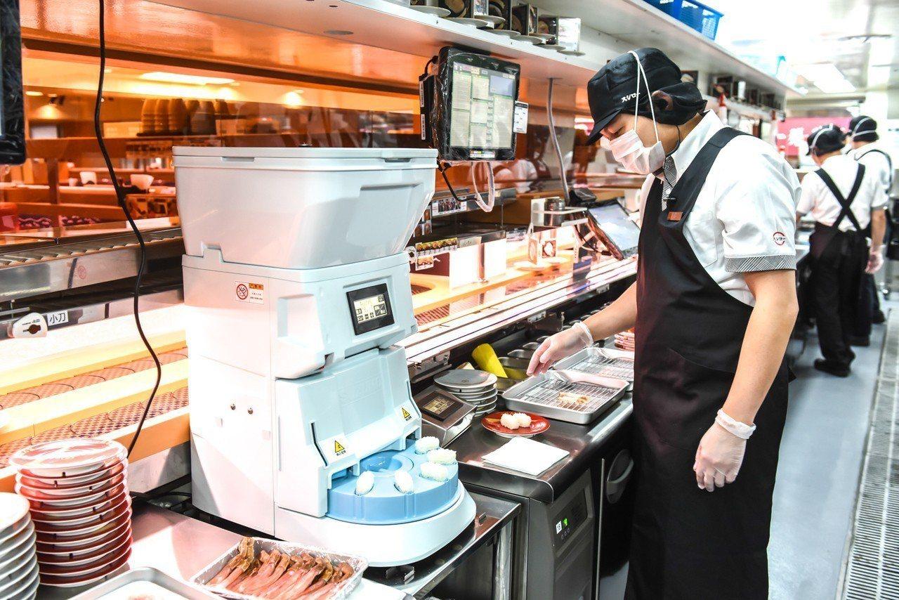 壽司郎IT綜合管理系統,確保料理品質。圖/壽司郎提供