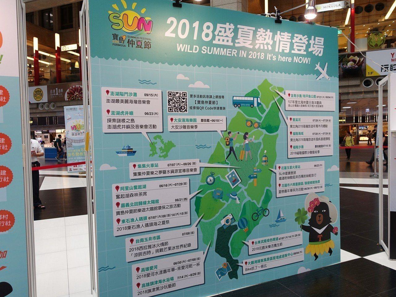 2018寶島仲夏節於全台盛大舉辦。記者張芳瑜/攝影