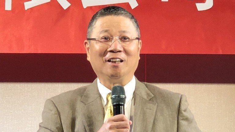緯創董事長林憲銘。 記者蕭君暉/攝影