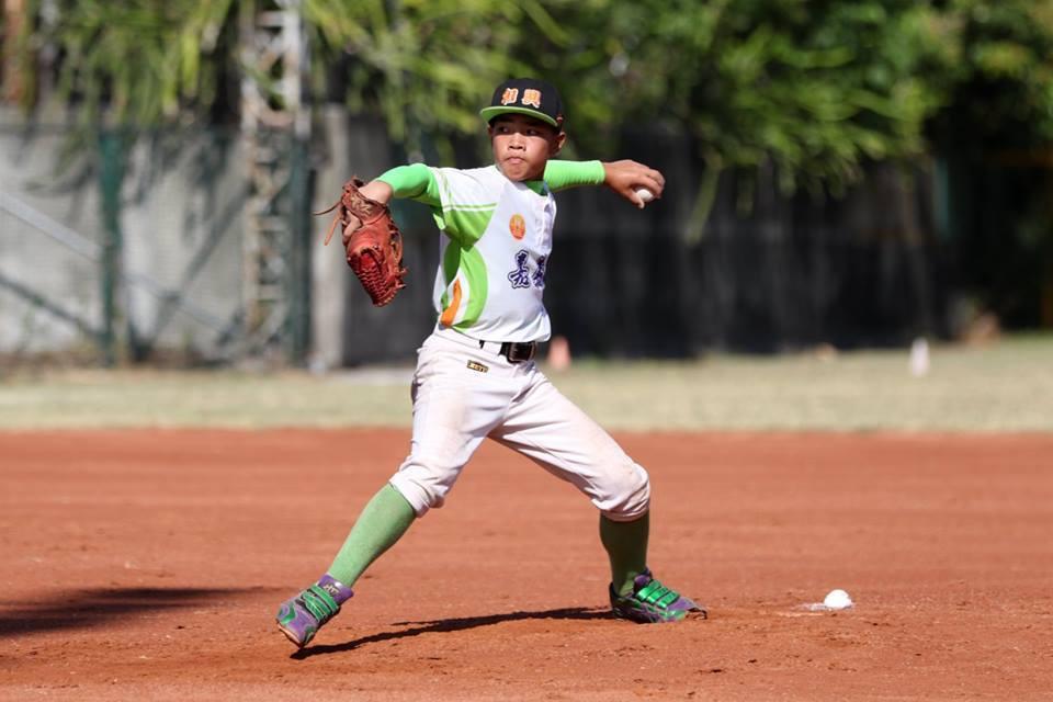 李安家是野手也可兼任投手。圖/和興國小提供