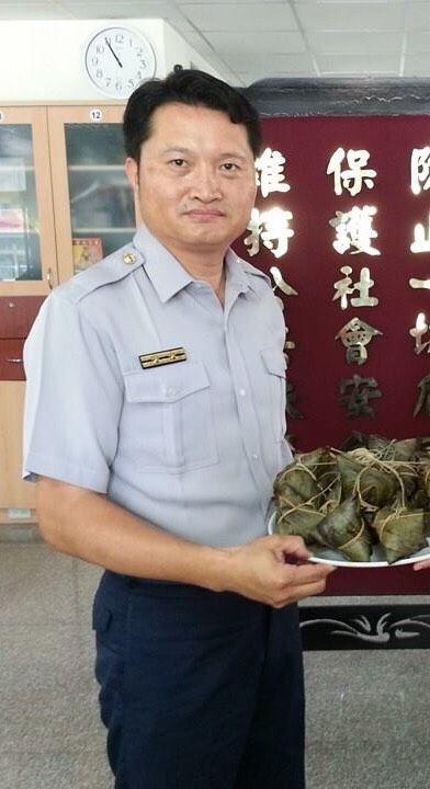 台南市警麻豆分局警備隊長許文福。 圖/警方提供