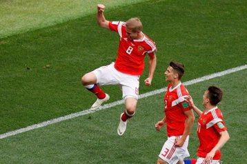 最貴世界盃、最弱開幕戰 俄國5:0屠殺沙國