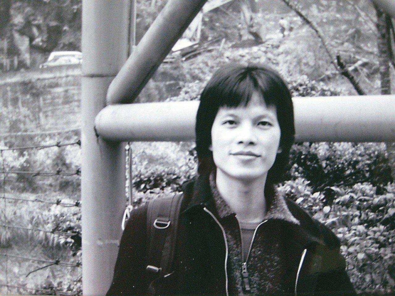 林靖傑,約2000年於高雄佛光山,當時33歲。(圖/林靖傑提供)