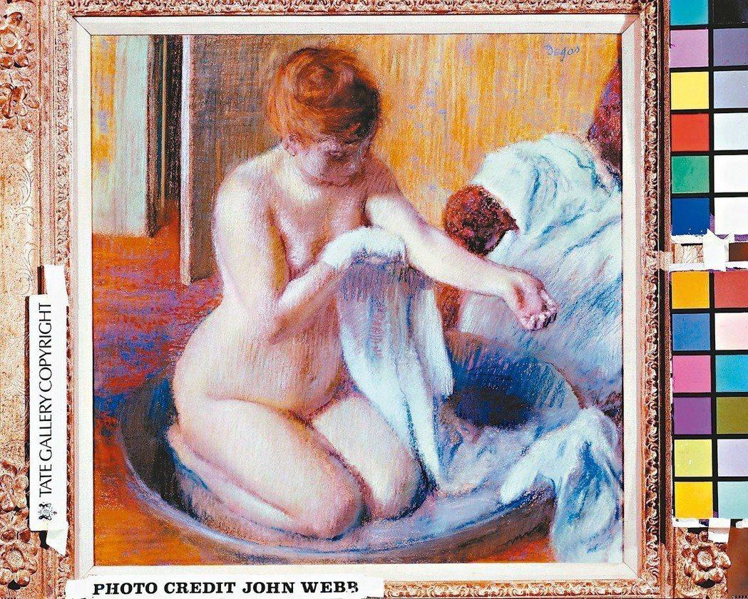圖5:愛德加‧竇加(1834-1917),〈浴盆中的女子〉,約1883。(圖...